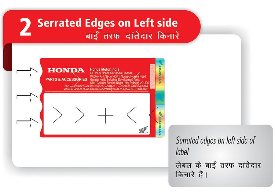 Honda Genuine Parts | Honda